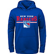NHL Youth New York Rangers MVP Royal Pullover Hoodie