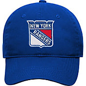 NHL Youth New York Rangers Basic Structured Adjustable Royal Hat