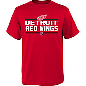 NHL Youth Detroit Red Wings Epitome Red T-Shirt