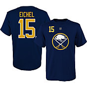 NHL Youth Buffalo Sabres Jack Eichel #15 Navy T-Shirt