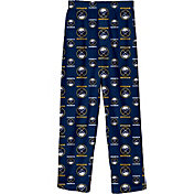 NHL Youth Buffalo Sabres Team Logo Navy Sleep Pants