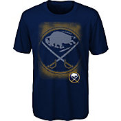 NHL Youth Buffalo Sabres Logo Matrix Navy T-Shirt