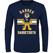 NHL Youth Buffalo Sabres Mascot Navy Long Sleeve Shirt