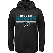 NHL Youth San Jose Sharks MVP Black Pullover Hoodie
