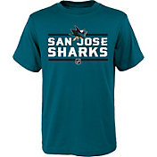 NHL Youth San Jose Sharks Epitome Teal T-Shirt