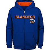 NHL Youth New York Islanders Stated Royal Full-Zip Hoodie