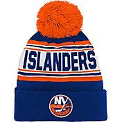 NHL Youth New York Islanders Royal Pom Knit Beanie