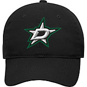 NHL Youth Dallas Stars Basic Structured Adjustable Black Hat