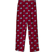 NHL Youth Colorado Avalanche Team Logo Burgundy Sleep Pants