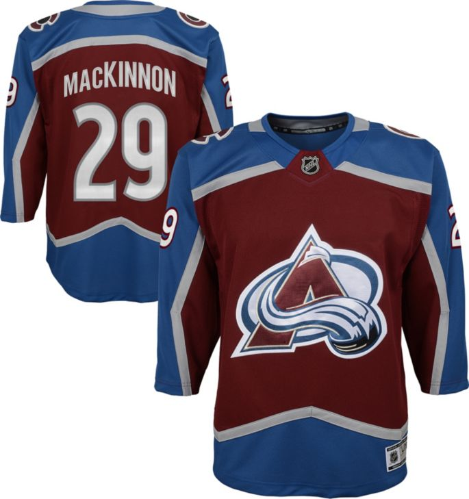 NHL Colorado Avalanche Toddler Embroidered Logo Mesh Jersey