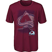 NHL Youth Colorado Avalanche Logo Matrix Maroon T-Shirt