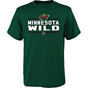 NHL Youth Minnesota Wild Epitome Green T-Shirt