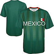 Outerstuff Youth Mexico Replica Jersey Green T-Shirt