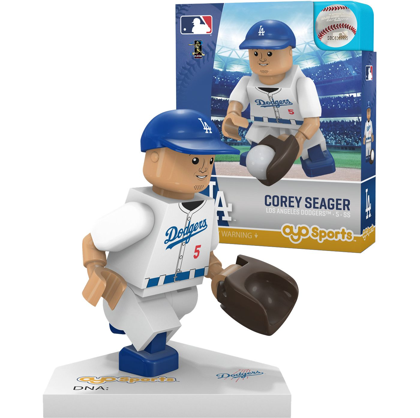 OYO Los Angeles Dodgers Corey Seager Figurine
