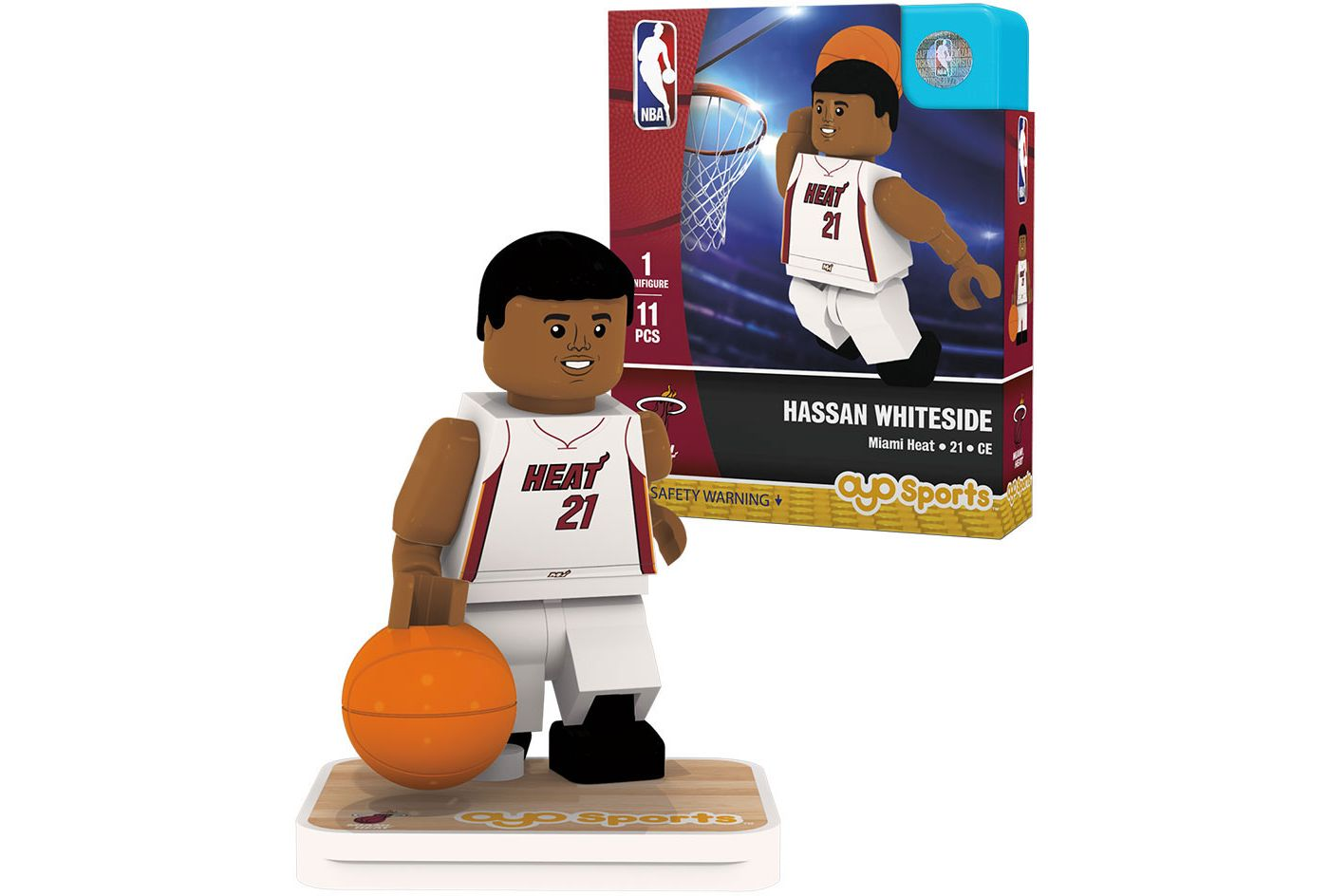 Oyo Miami Heat Hassan Whiteside Figurine