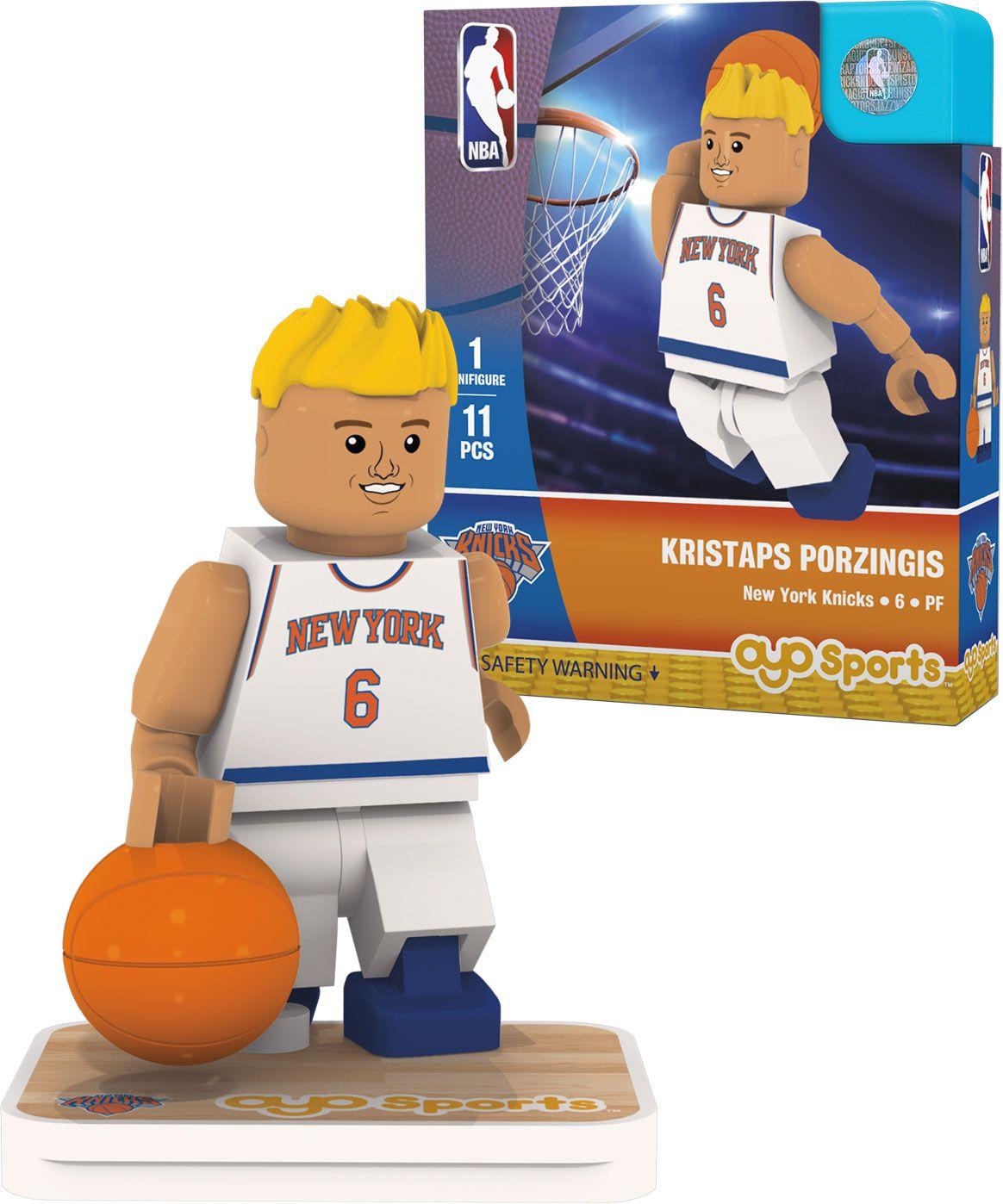 Oyo New York Knicks Kristaps Porzingis Figurine, Team