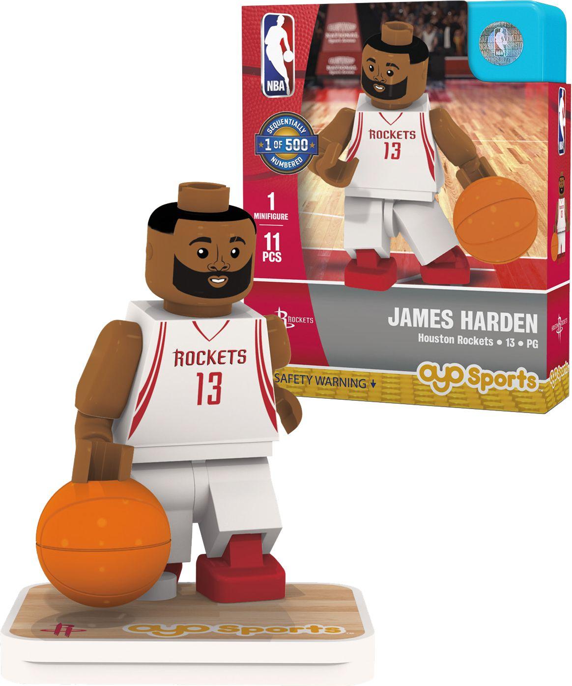 OYO Houston Rockets James Harden Figurine, Team
