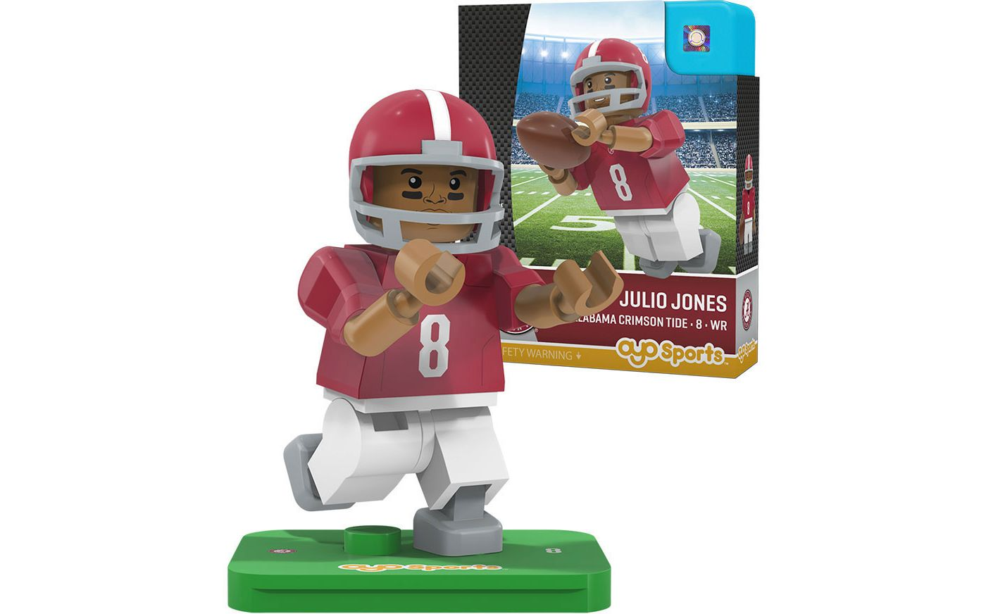 OYO Alabama Crimson Tide Julio Jones Figurine
