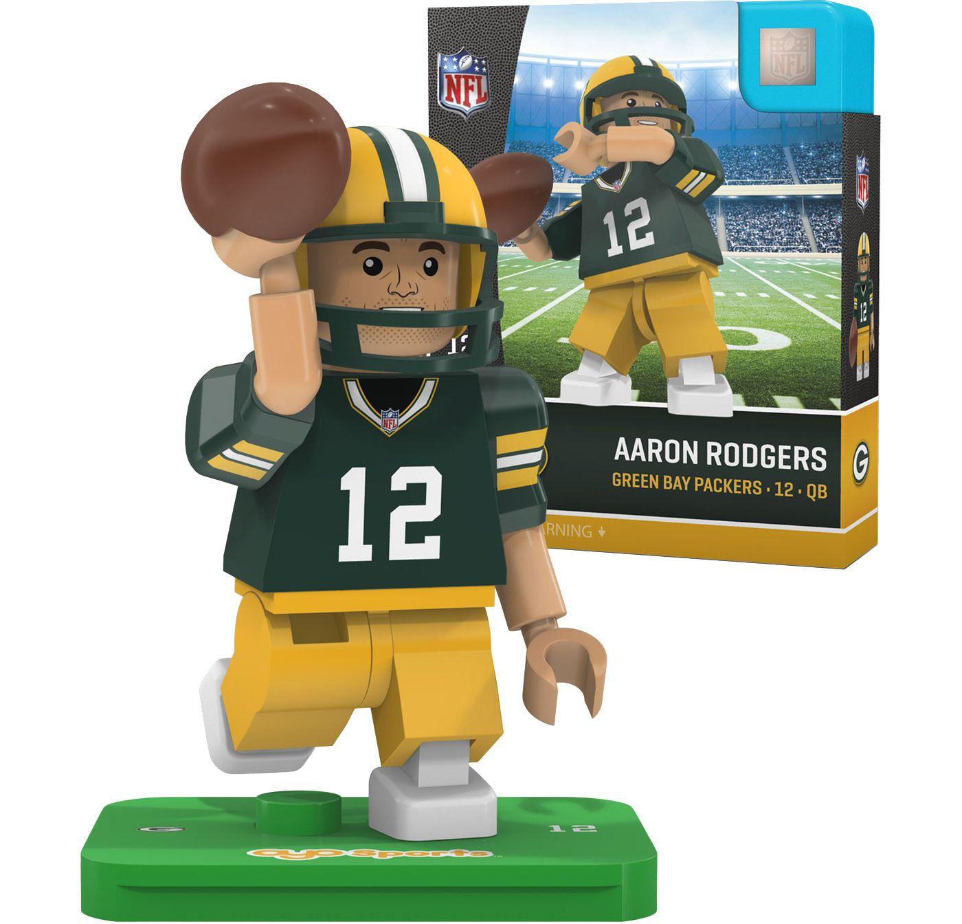 OYO Green Bay Packers Aaron Rodgers Figurine