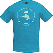 Pelagic Men's Premium Electric Marlin T-Shirt
