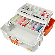 Plano Ready Set Fish 2-Tray Tackle Box