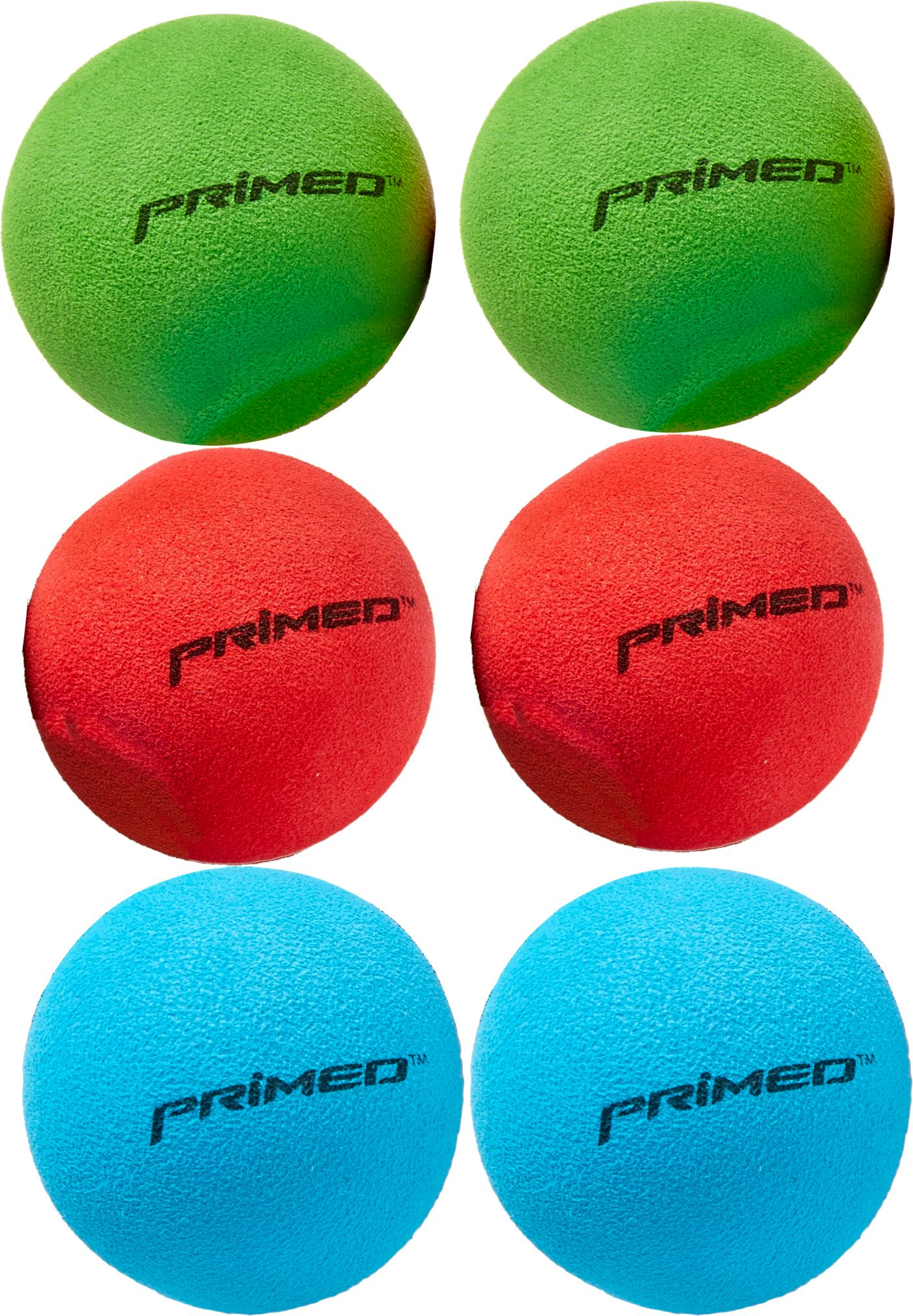 PRIMED Knee Hockey Balls - 6 Pack