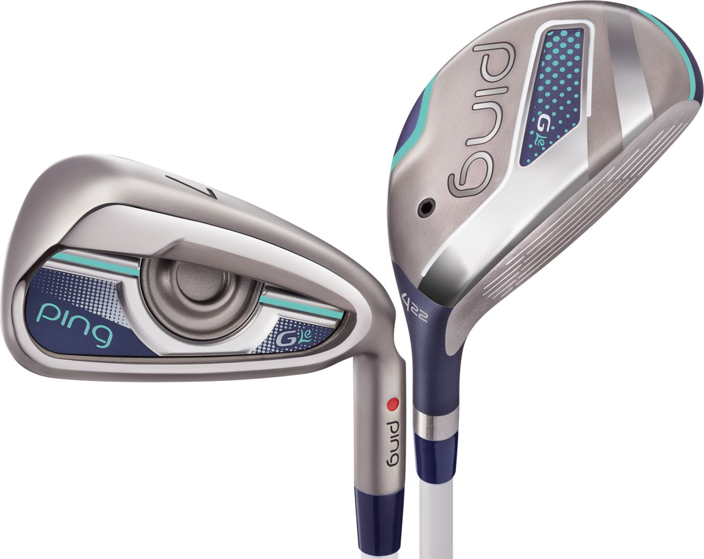 PING Women's G Le Hybrids/Irons - Graphite