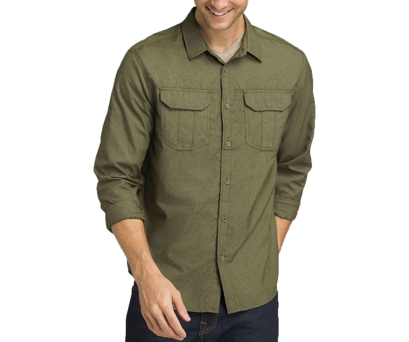 prAna Men's Citadel Long Sleeve Shirt