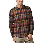 prAna Men's Woodman Lightweight Flannel Long Sleeve Shirt