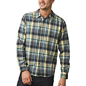 prAna Men's Woodman Lightweight Flannel Long Sleeve Shirt