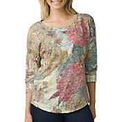 prAna Women's Bouquet 3/4 Sleeve Shirt