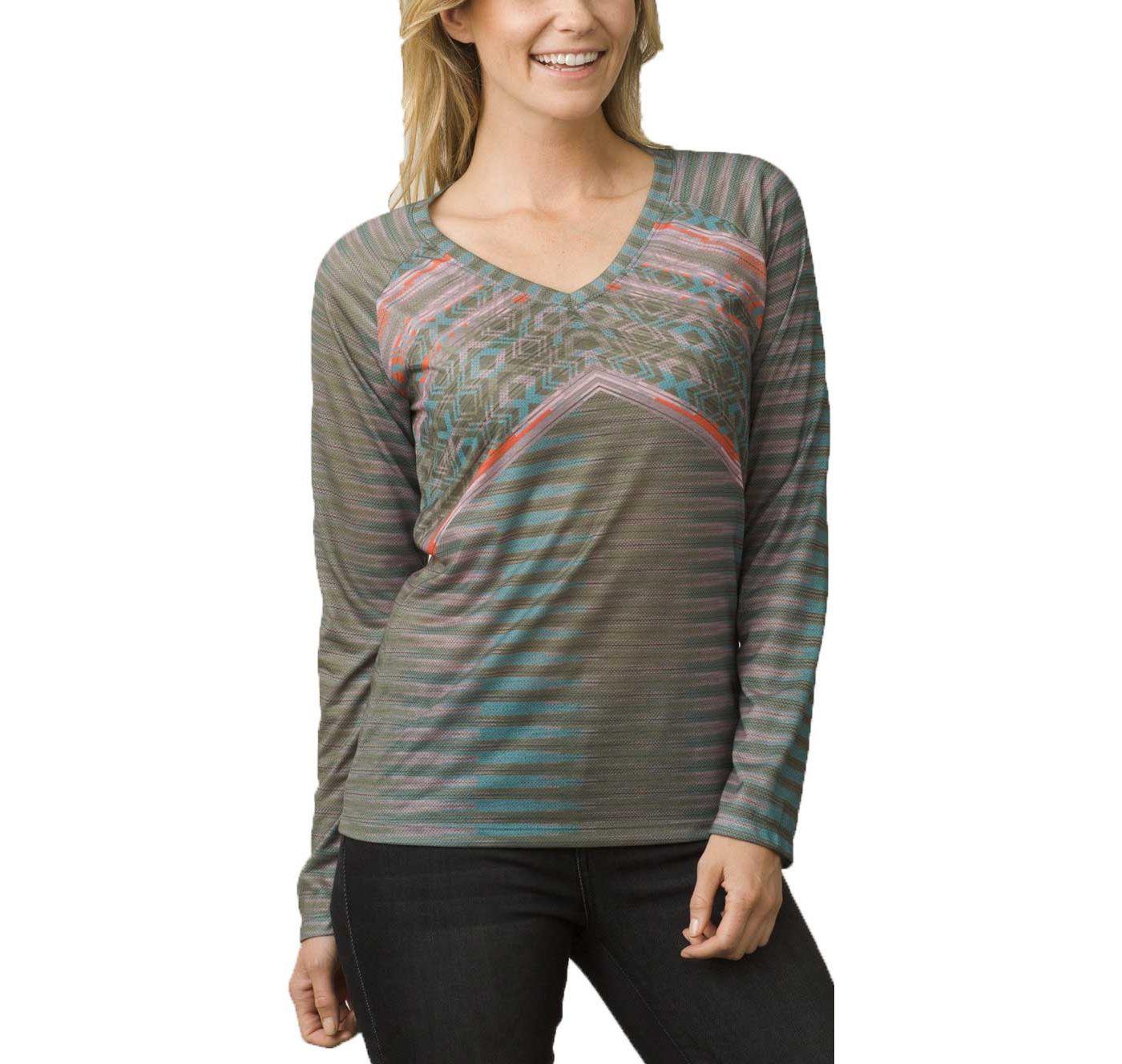 prAna Women's Baseball Portfolio Long Sleeve Shirt