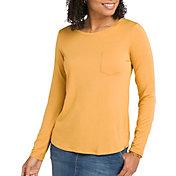 prAna Women's Foundation Crew Long Sleeve Shirt