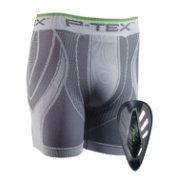 P-TEX Adult Pro Cup with Compression Shorts