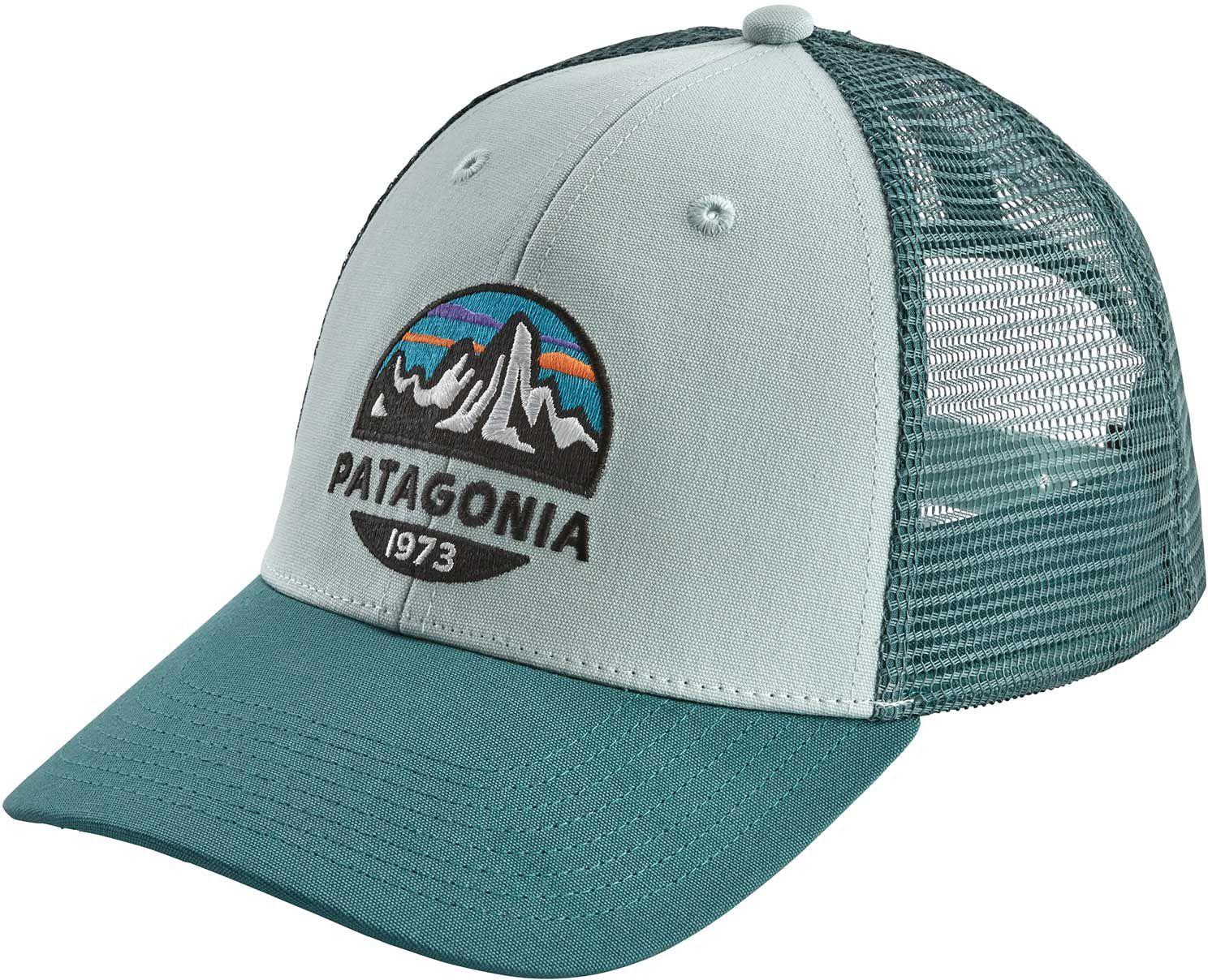 Patagonia Men's Fitz Roy Scope Lopro Trucker Hat, Atoll Blue