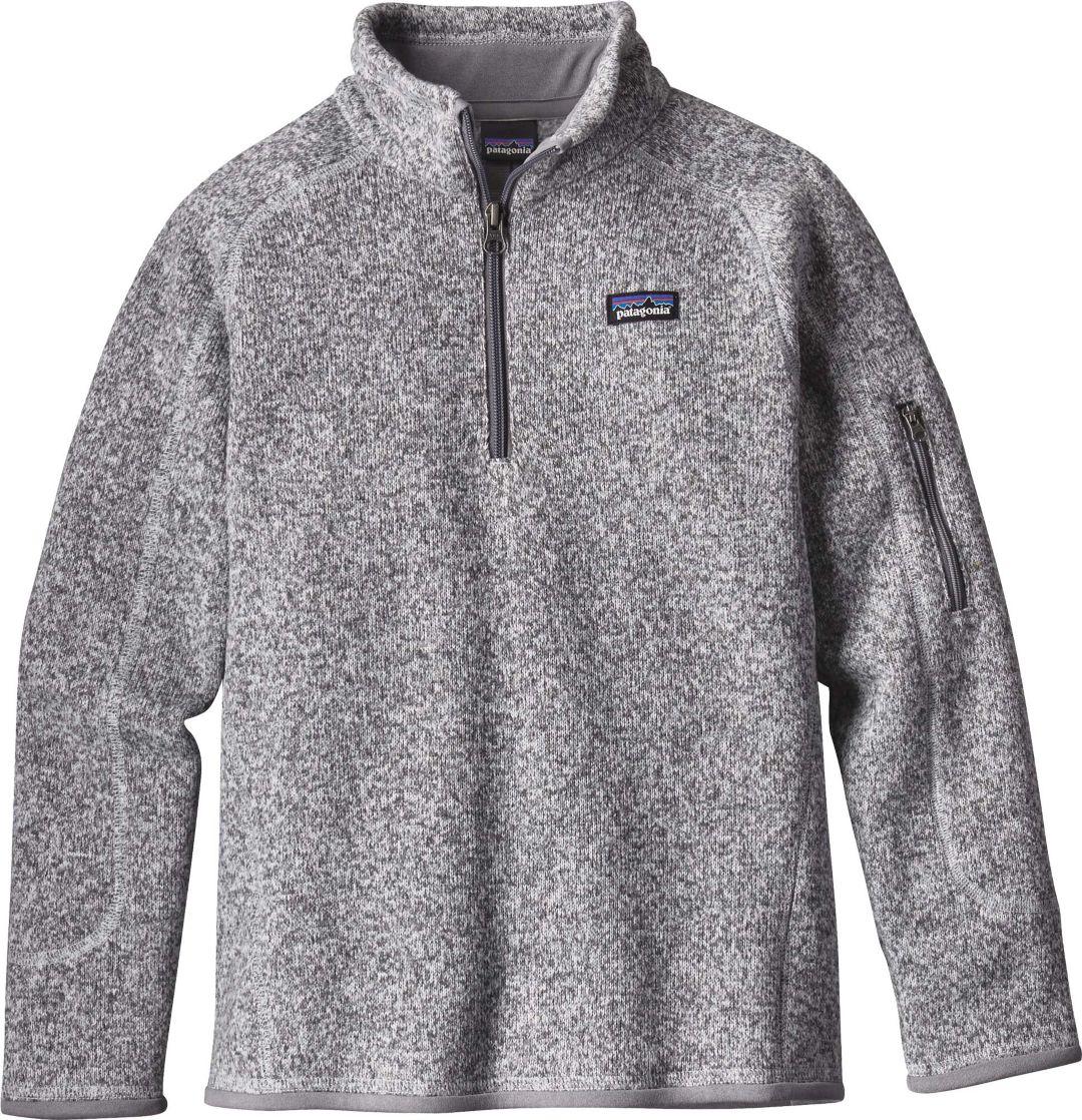 5756f0cc88a Patagonia Girls  Better Sweater Fleece Quarter Zip 1