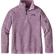 Patagonia Girls' Better Sweater Fleece Quarter Zip