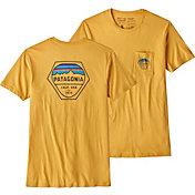 Patagonia Men's Fitz Roy Hex Organic Pocket T-Shirt