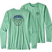 Patagonia Men's Fitz Roy Hex Long Sleeve T-Shirt