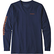 Patagonia Men's Text Logo Responsibili-Tee Long Sleeve Shirt