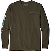 Patagonia Men's Text Logo Responsibili-Tee Long Sleeve Shirt