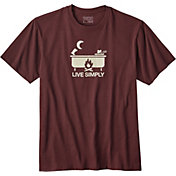 Patagonia Men's Live Simply Hot Tub T-Shirt