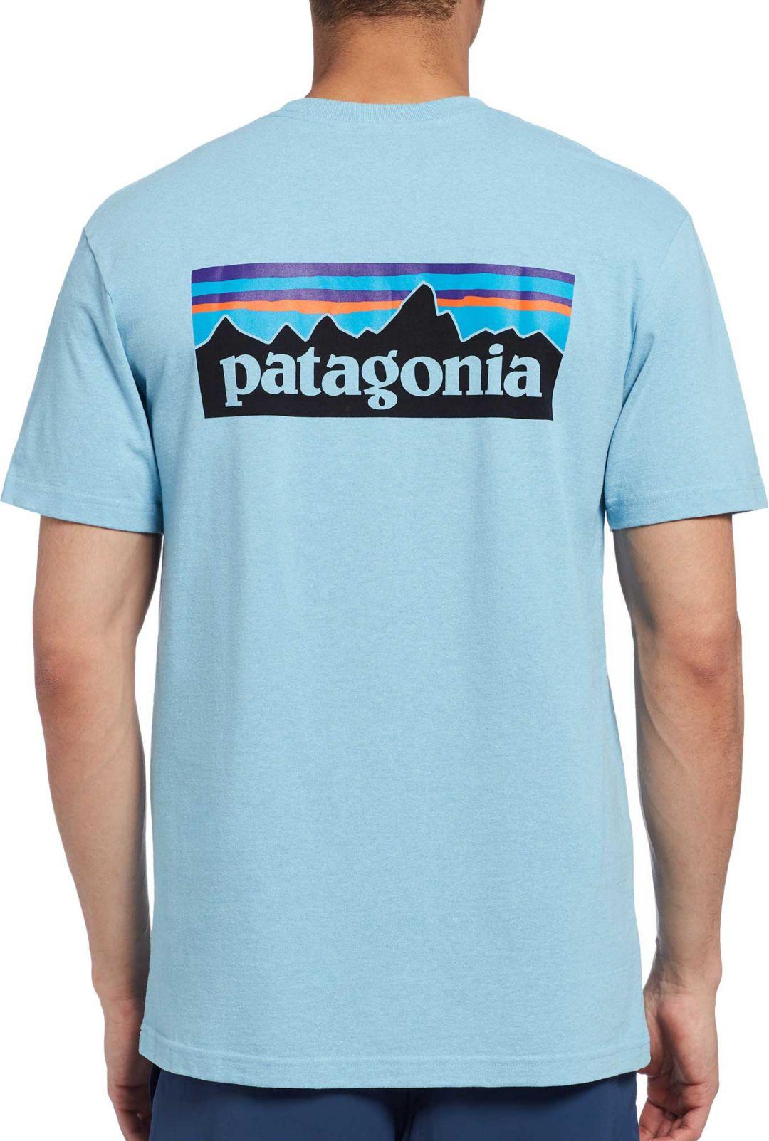 9218bc092 Patagonia Men's P-6 Logo Responsibili-Tee T-Shirt