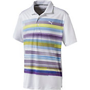 PUMA Boys' Pixel Golf Polo