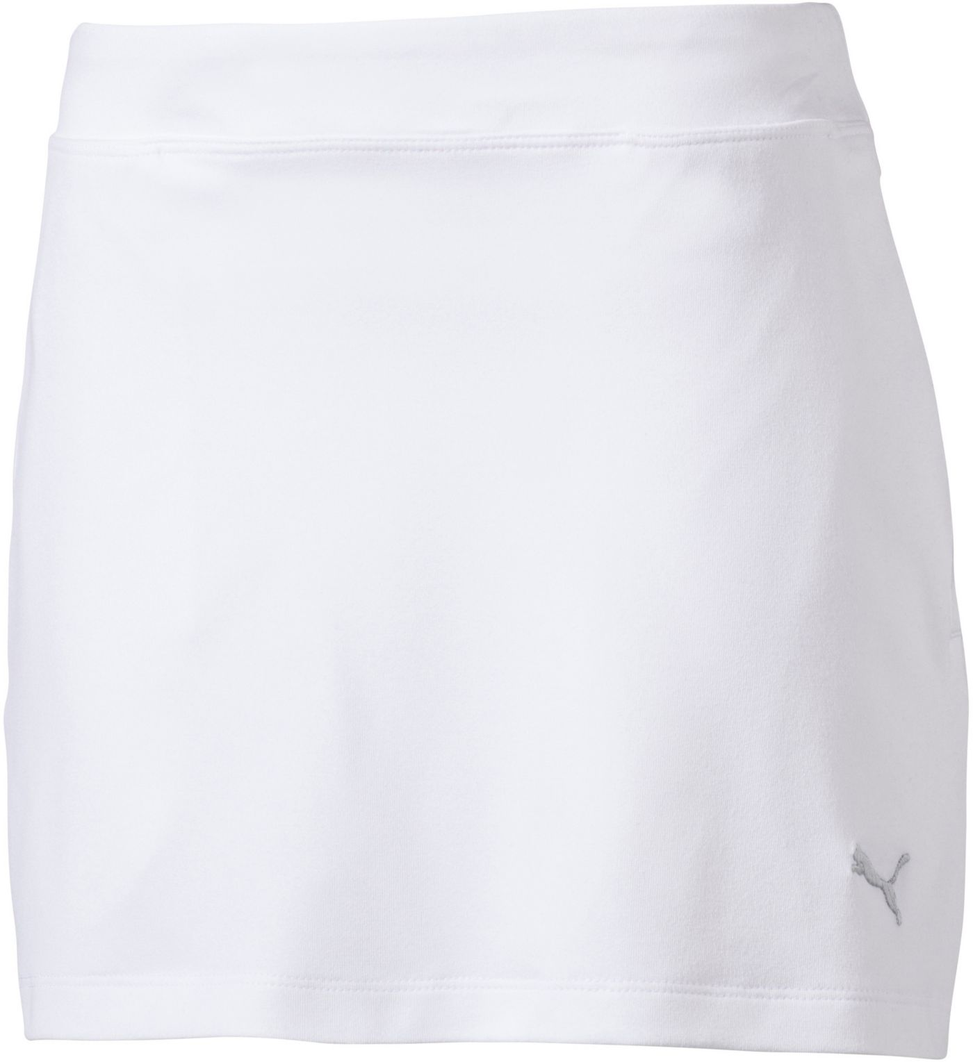 PUMA Girls' Solid Knit Skort