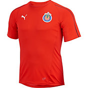 PUMA Men's Chivas Guadalajara Red Training Top