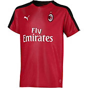 PUMA Youth AC Milan Red Prematch Top