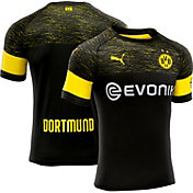 PUMA Men's Borussia Dortmund 2018 Stadium Away Replica Jersey