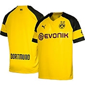 PUMA Men's Borussia Dortmund 2018 Replica Home Stadium Jersey