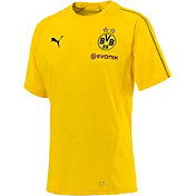PUMA Men's Borussia Dortmund Yellow Training Top